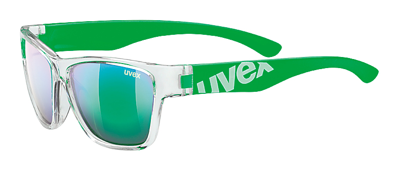 UVEX SGL 508 CLEAR GREEN/GREEN MIRROR