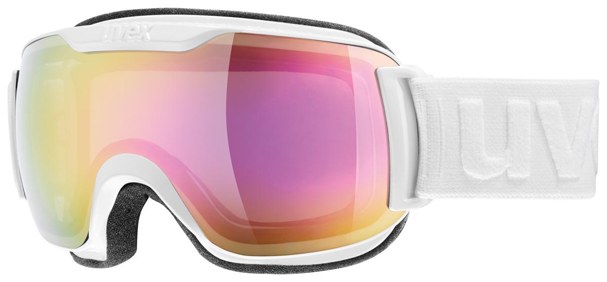 UVEX DOWNHILL 2000 S FM white double lens S5504371026