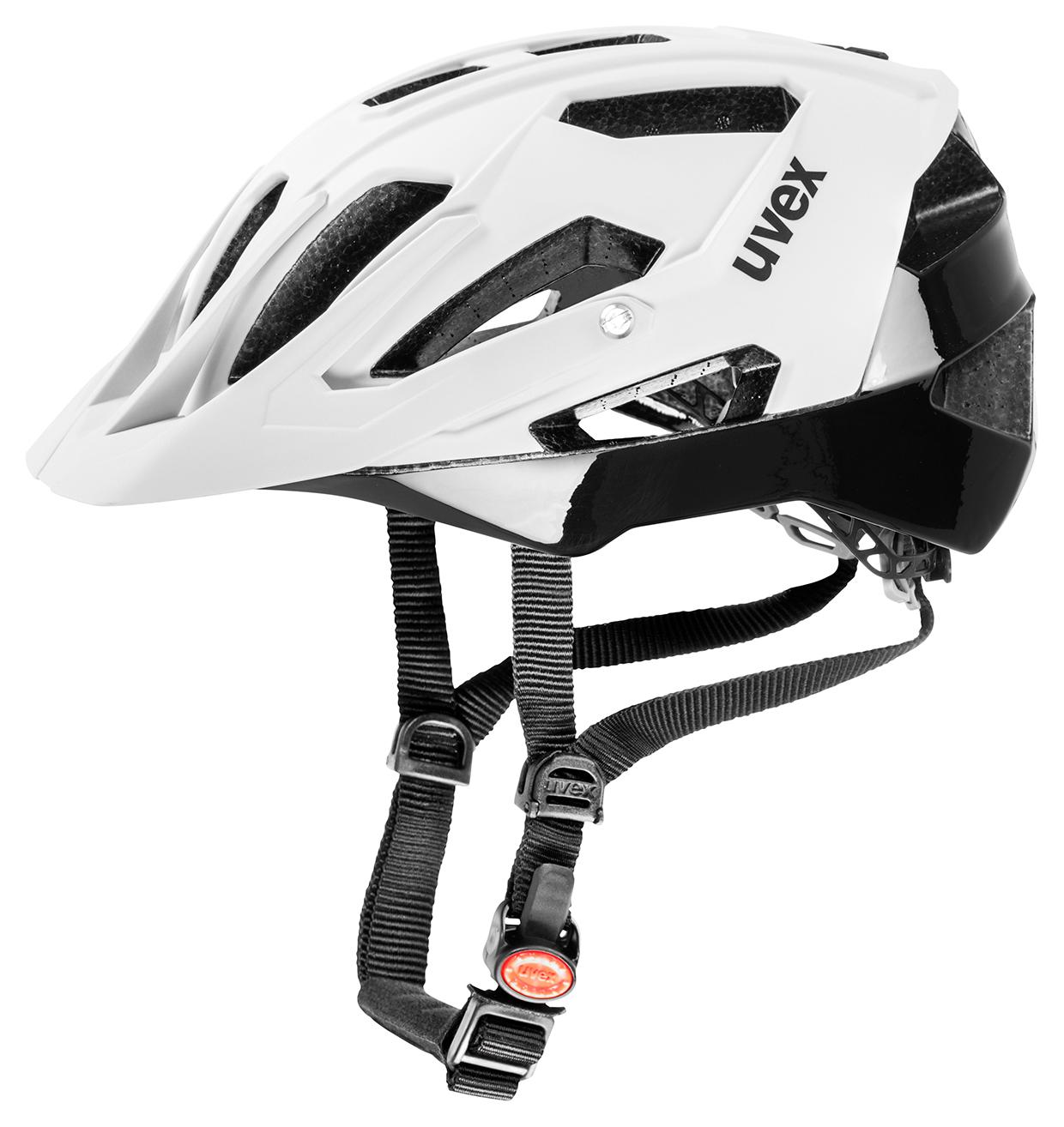 UVEX QUATRO, WHITE MAT-BLACK 2015 53-57 cm