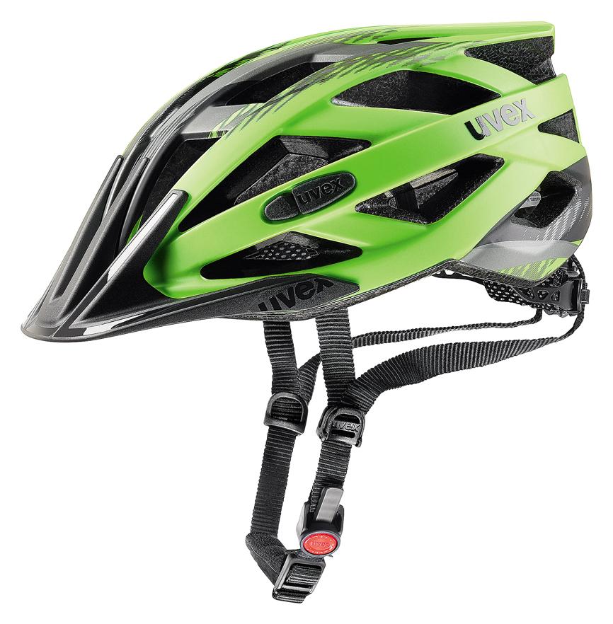 UVEX I-VO CC, GREEN-BLACK MAT 52-56 cm
