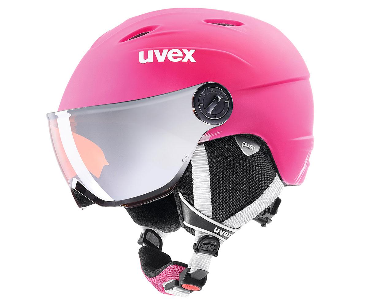 UVEX JUNIOR VISOR PRO pink mat S566191900 17/18 54-56 cm