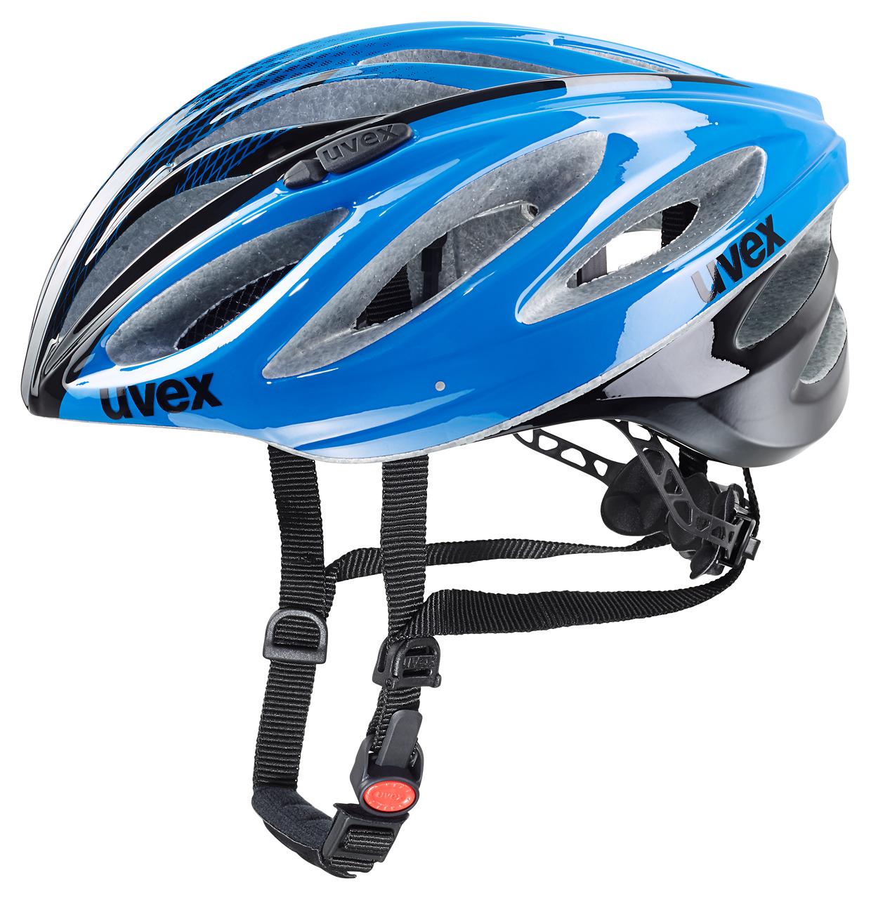 UVEX BOSS RACE, BLUE-BLACK 2016 52-56 cm