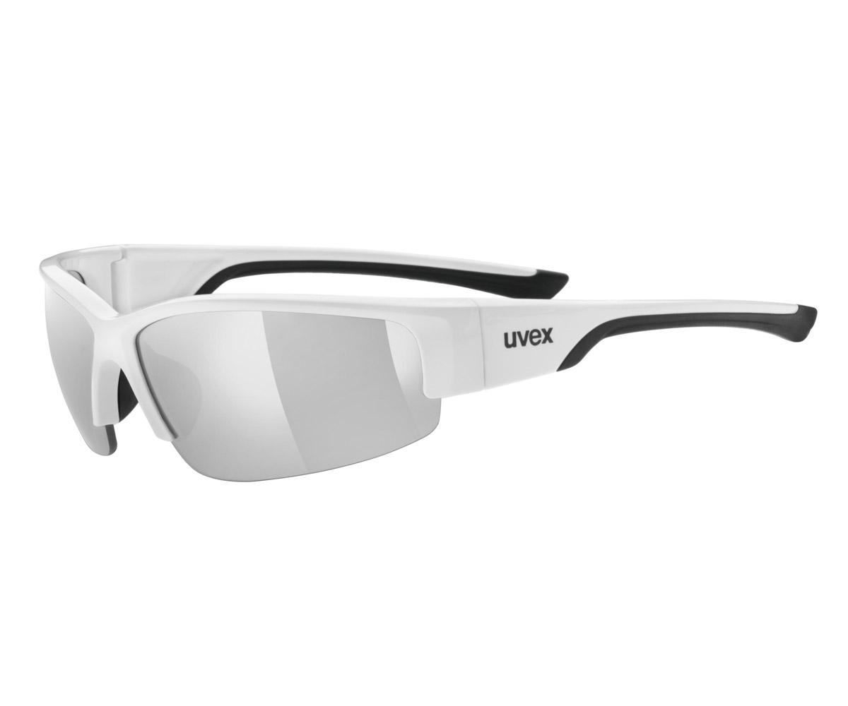 UVEX SGL 215, WHITE BLACK/SILVER