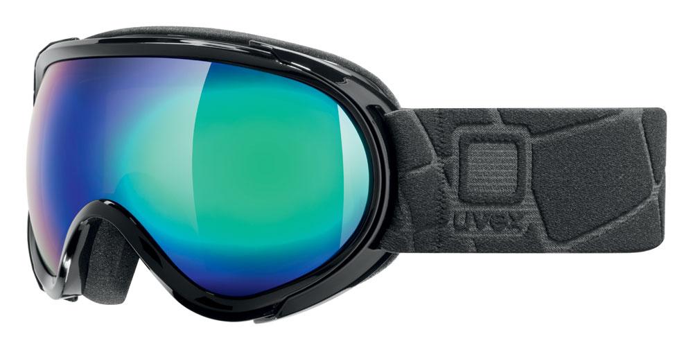 UVEX G.GL 7, black/litemirror green S5506192026