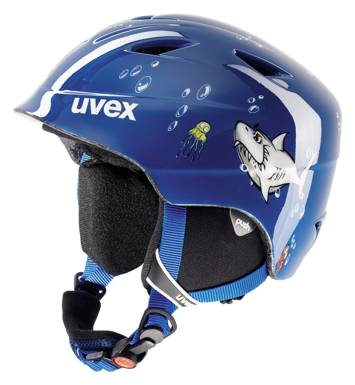 UVEX AIRWING 2, blue shark S566132470 48-52 cm