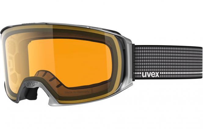 UVEX CRAXX OTG, silver met/lasergold lite S5516285529