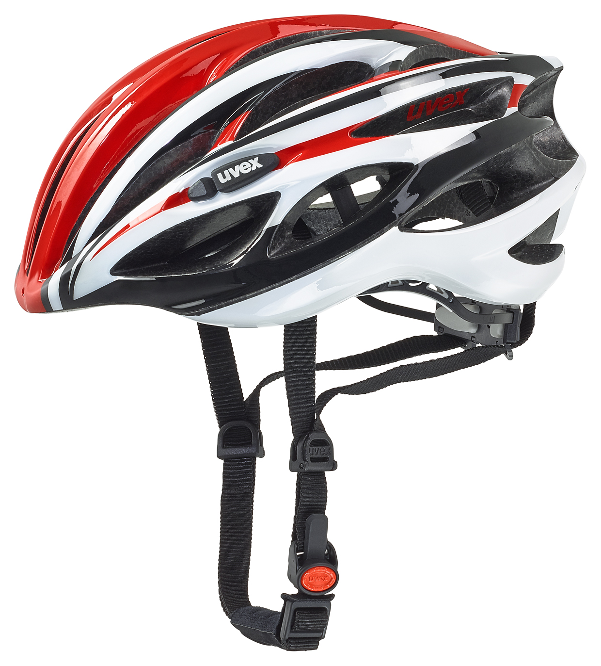 UVEX RACE 1, RED-WHITE 2016 50-55 cm