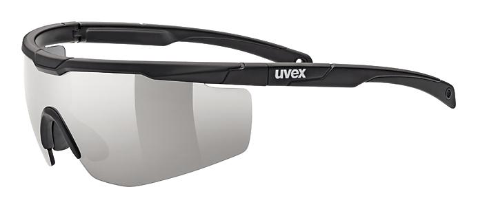 UVEX SPORTSTYLE 117, BLACK MAT