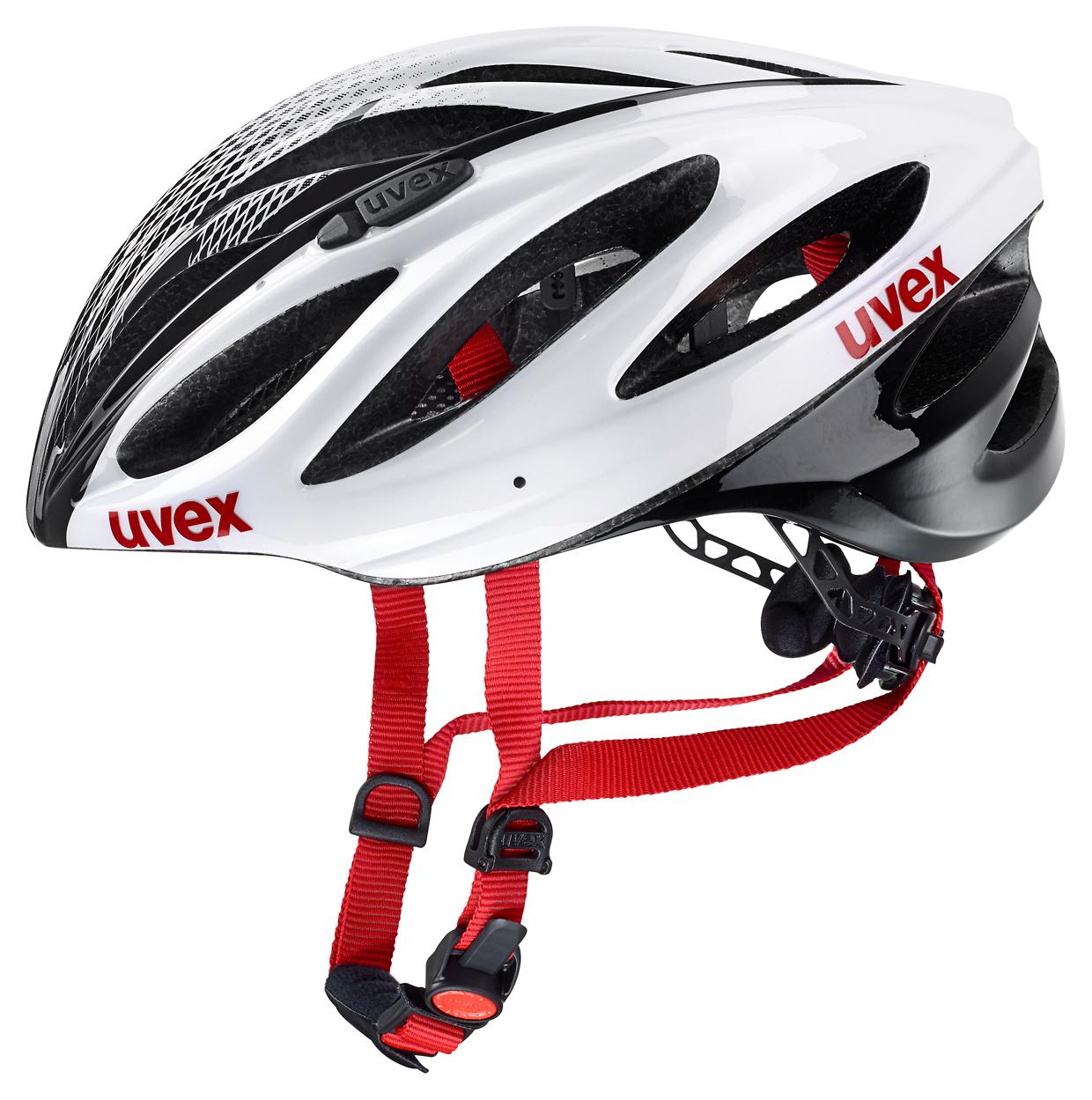 UVEX BOSS RACE, WHITE-BLACK 2016 52-56 cm