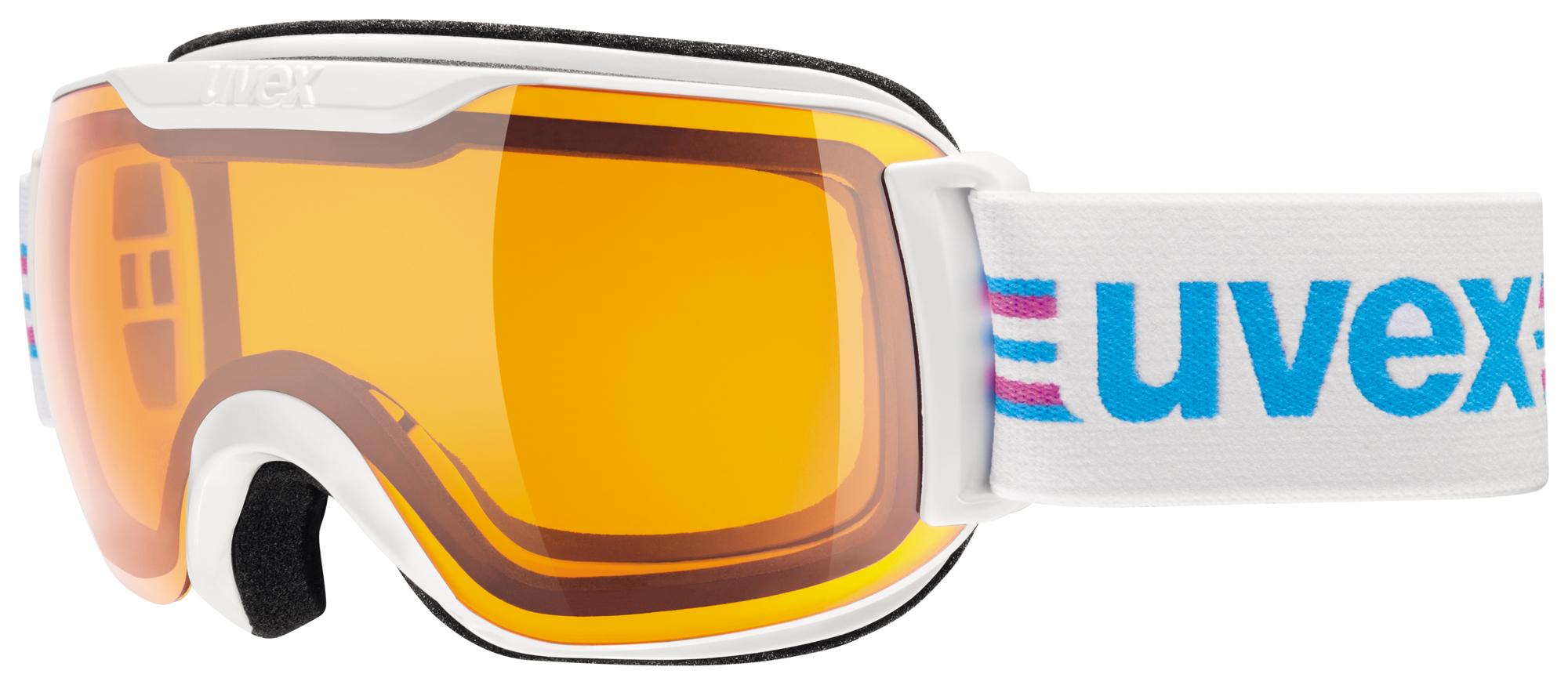 UVEX DOWNHILL 2000 S RACE, white-black/lasergold S5504391229