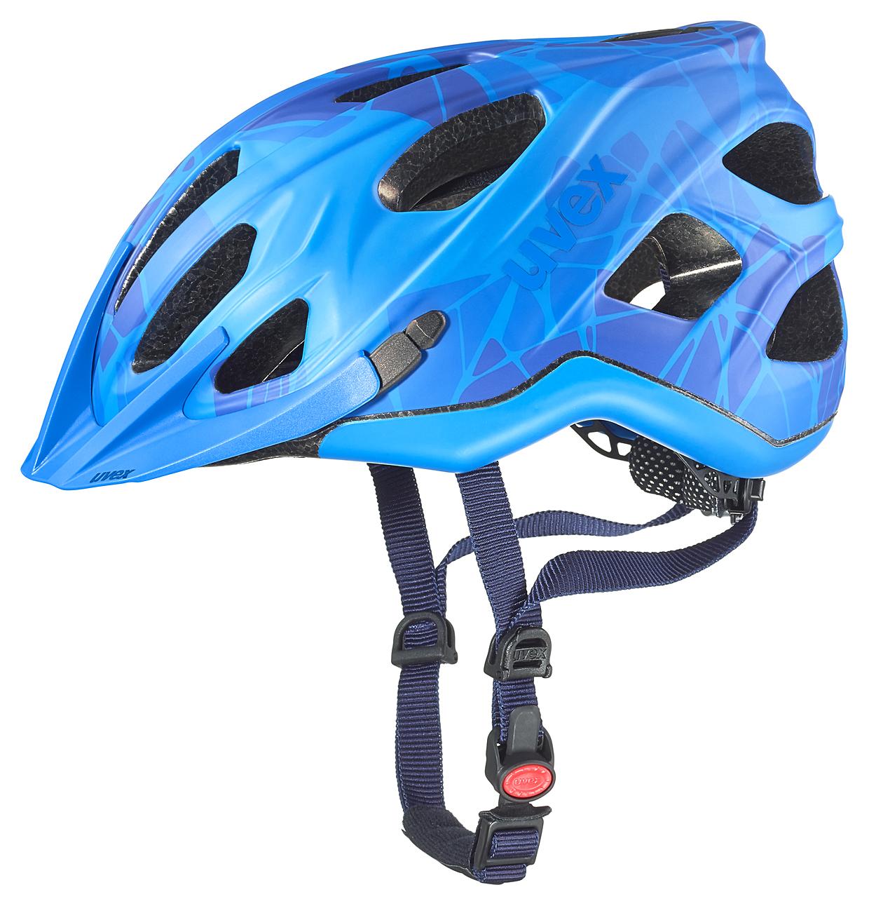 UVEX ADIGE CC, BLUE MAT 2016 52-57 cm