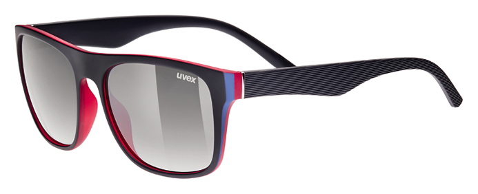 UVEX LGL 26, BLACK RED