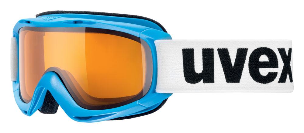 UVEX SLIDER, cyanblue/lasergold lite S5500244029