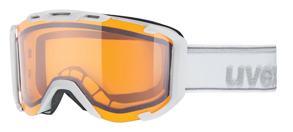 UVEX SNOWSTRIKE LGL, white mat/lasegold lite S5504201029