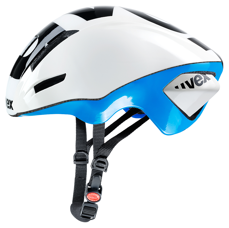 UVEX EDAero, WHITE-BLUE 2015 57-59 cm