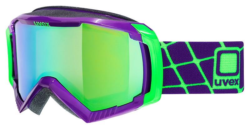 UVEX G.GL 100, dark purple dl/ltm green S5506279926