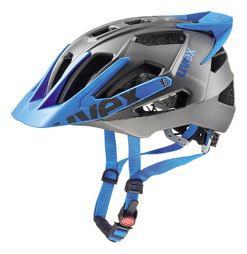 UVEX QUATRO PRO, DARK SILVER-BLUE MAT 53-57 cm