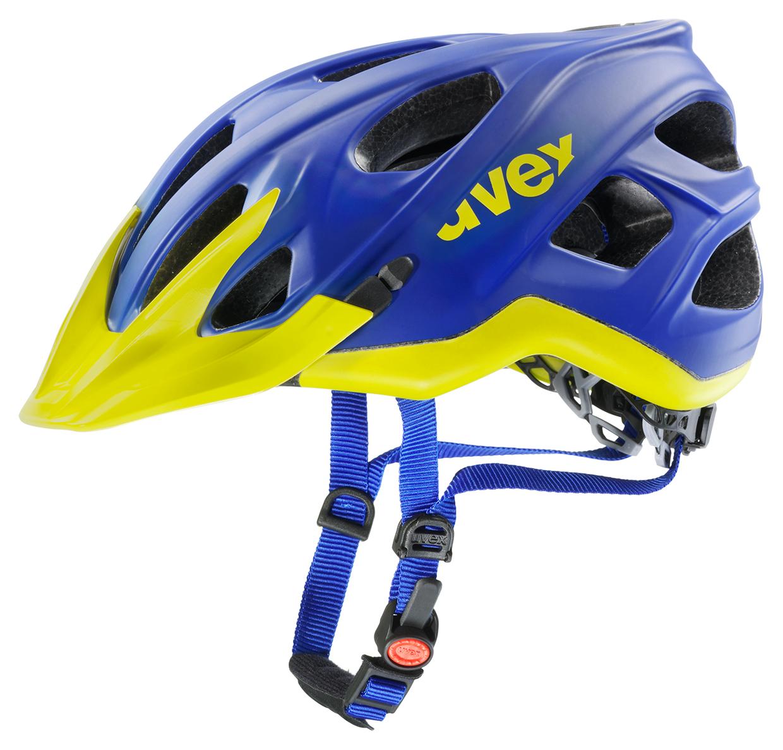 UVEX STIVO CC, BLUE LEMON MAT 2015 56-60 cm
