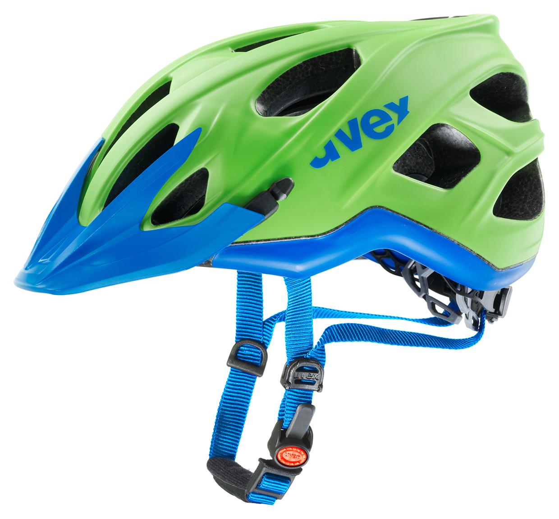 UVEX STIVO CC, GREEN-CYAN MAT 2015 53-57 cm