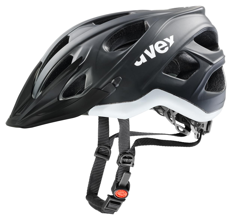 UVEX STIVO CC, BLACK-WHITE MAT 2015 53-57 cm