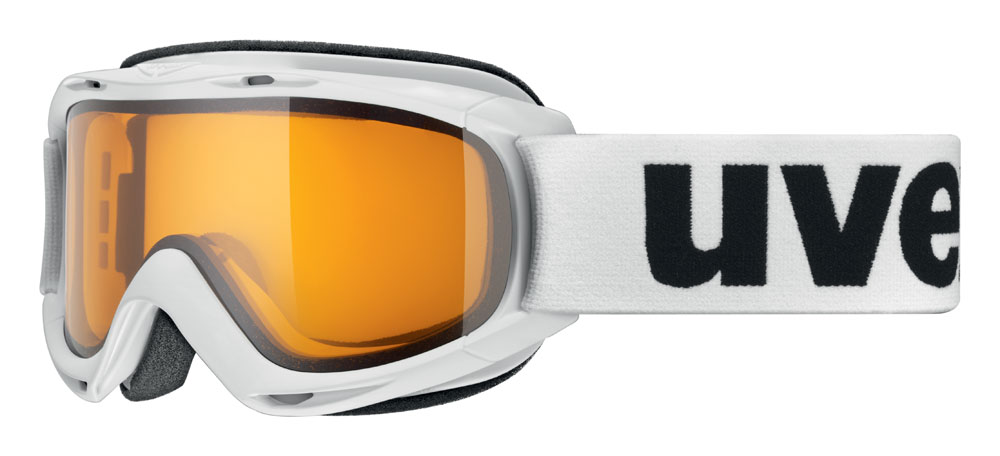 UVEX SLIDER, white/lasergold lite S5500241129