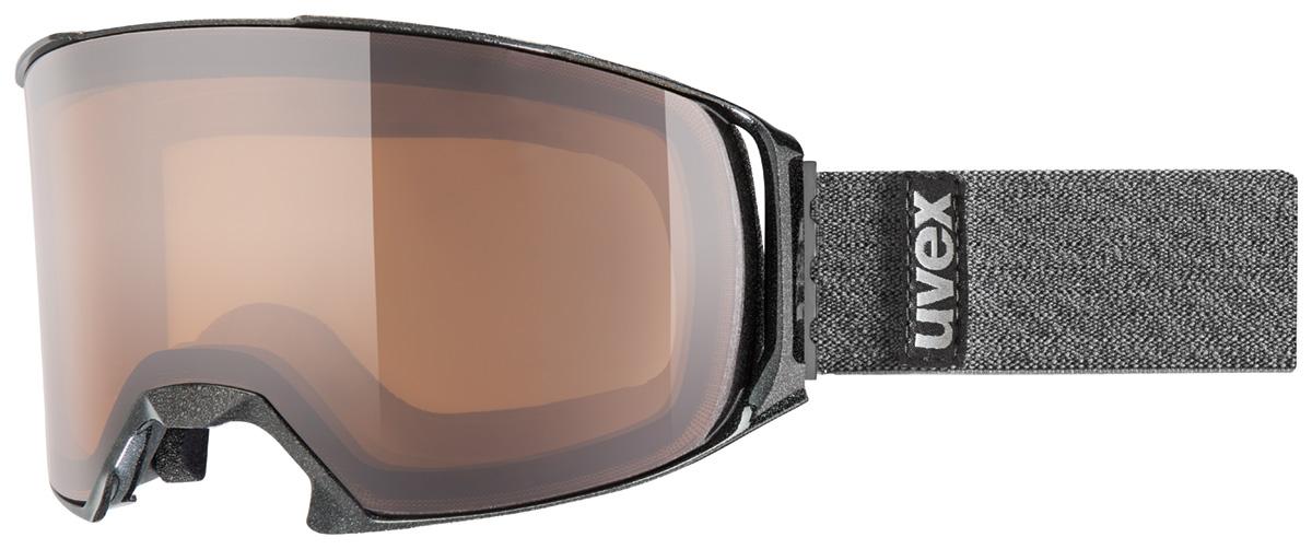 UVEX CRAXX OTG POLA, black met/polavision S5516302021