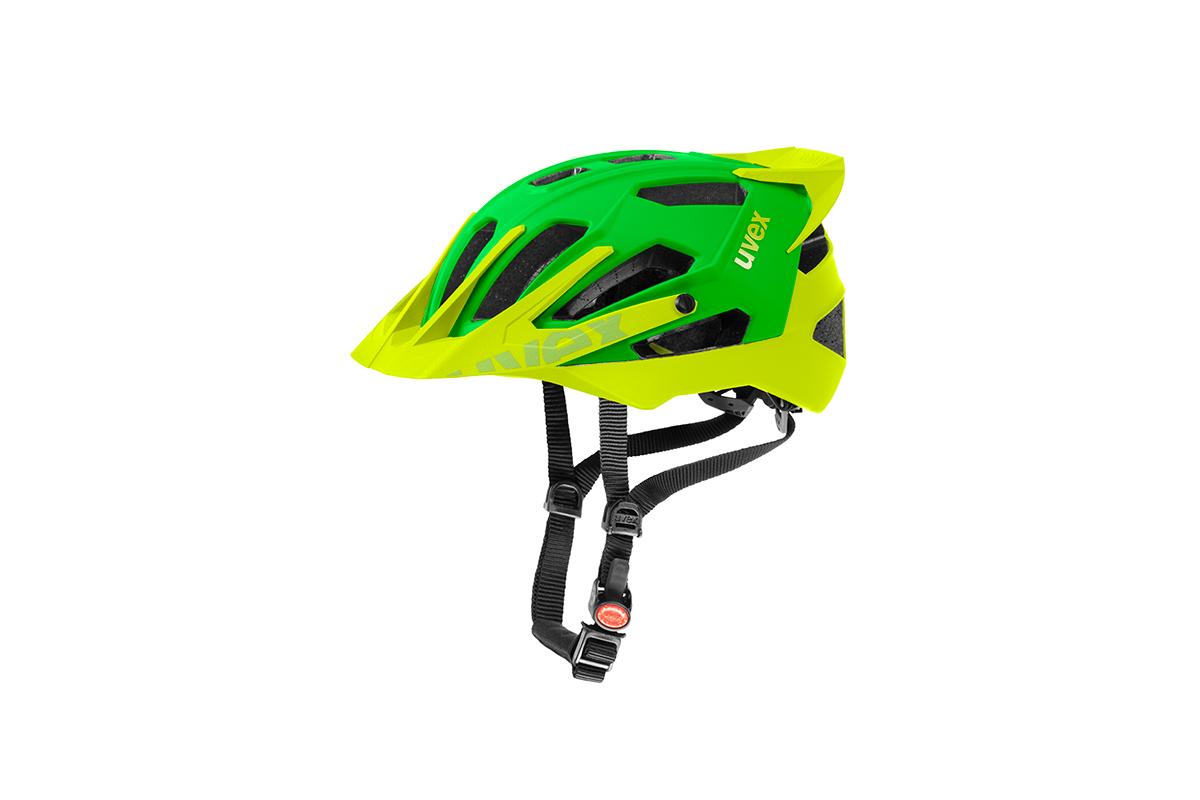 UVEX QUATRO PRO, GREEN-LEMON MAT 2015 53-57 cm