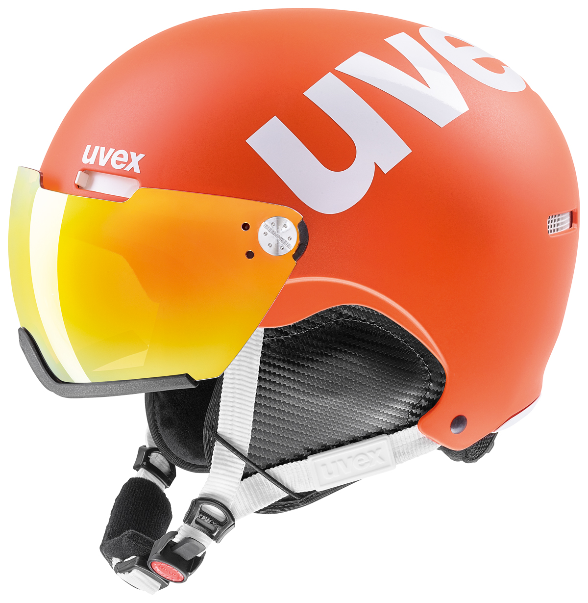 UVEX HLMT 500 VISOR orange mat S566213800 55-59 cm
