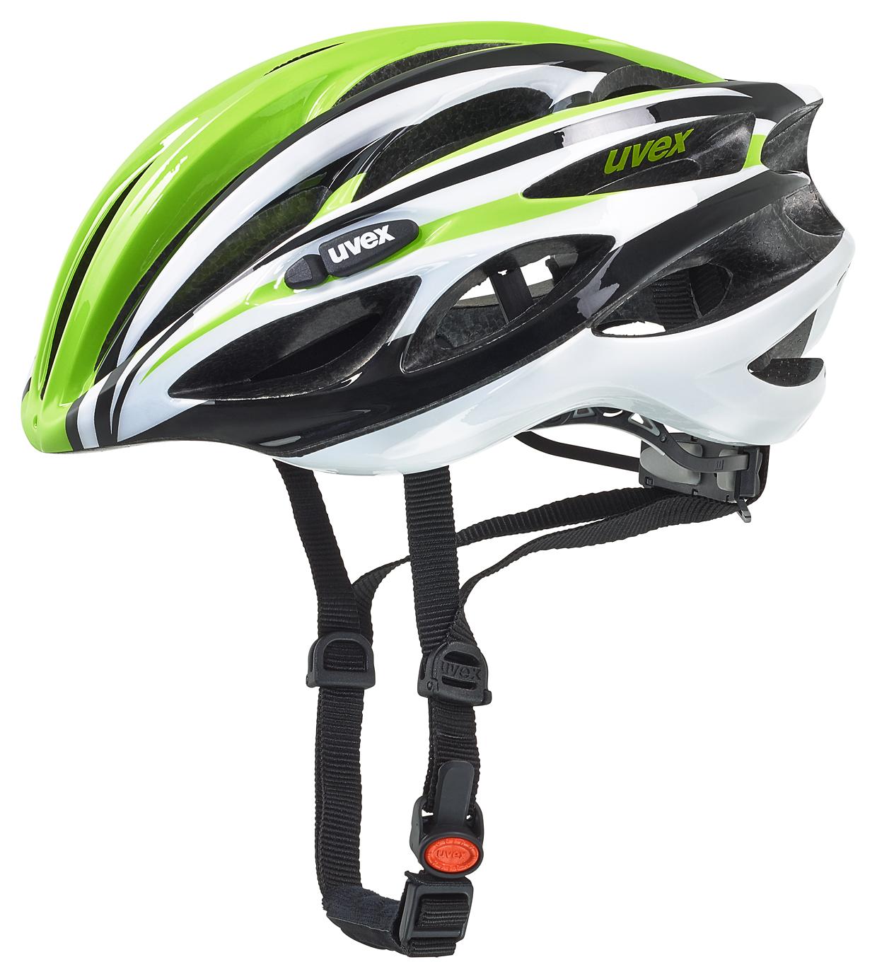 UVEX RACE 1, GREEN-WHITE 2016 50-55 cm