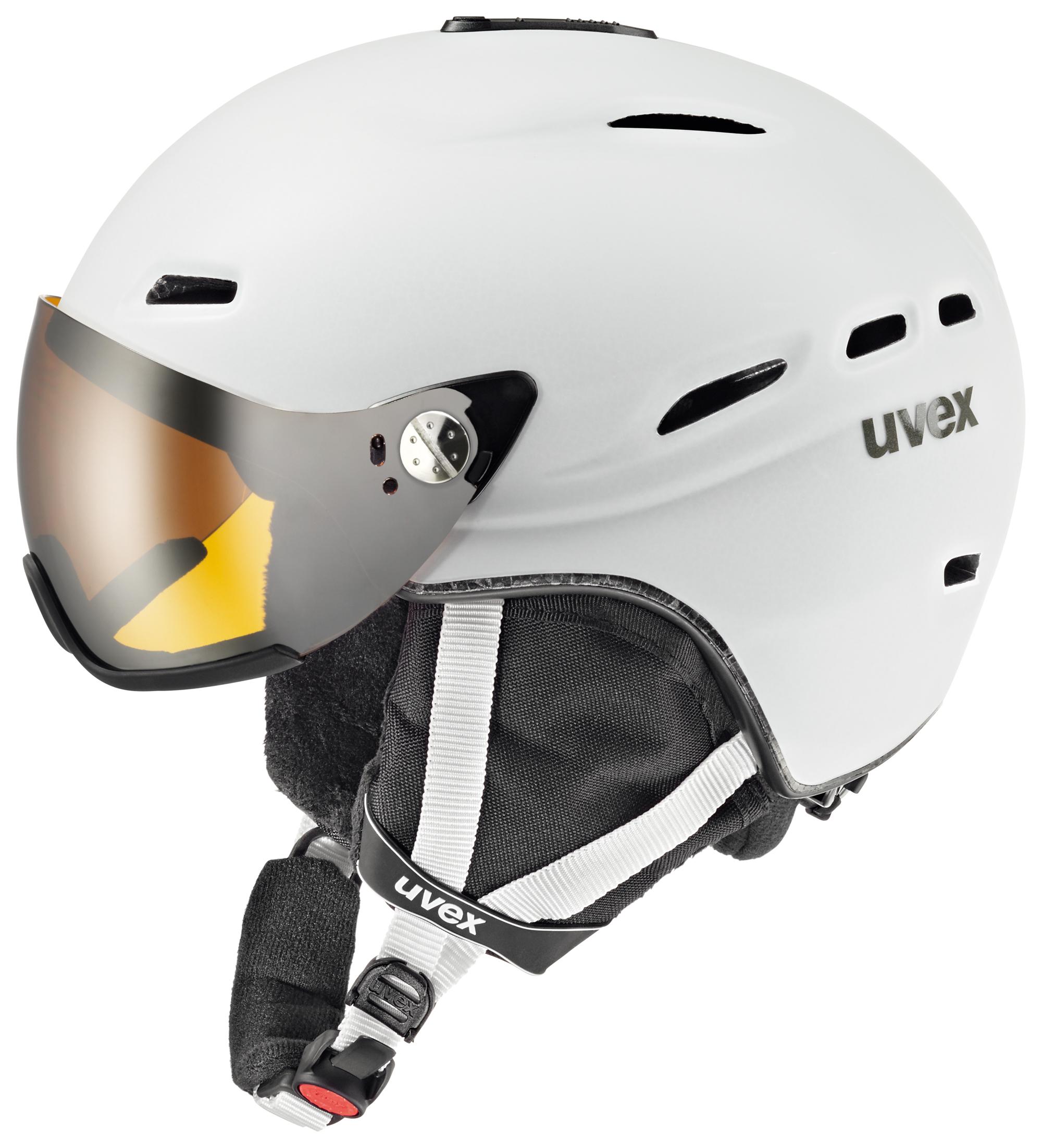 UVEX HLMT 200, white mat S566176110 58-62 cm