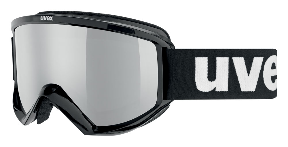 UVEX FIRE FLASH, black/litemirror silver S5505052026