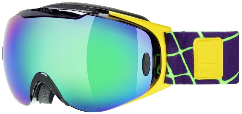 UVEX G.GL 9 RECON READY, black-yellow/ltm green S5507000226