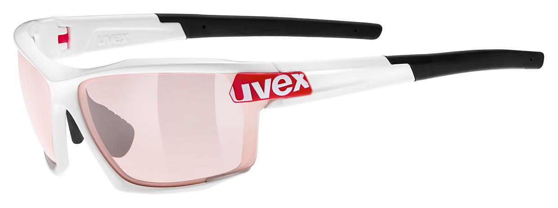 UVEX SPORTSTYLE 113 VARIO, WHITE RED