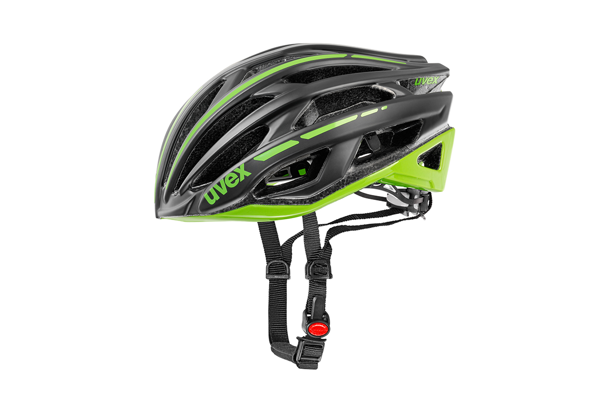 UVEX RACE 5, BLACK MAT-GREEN 2015 52-55 cm