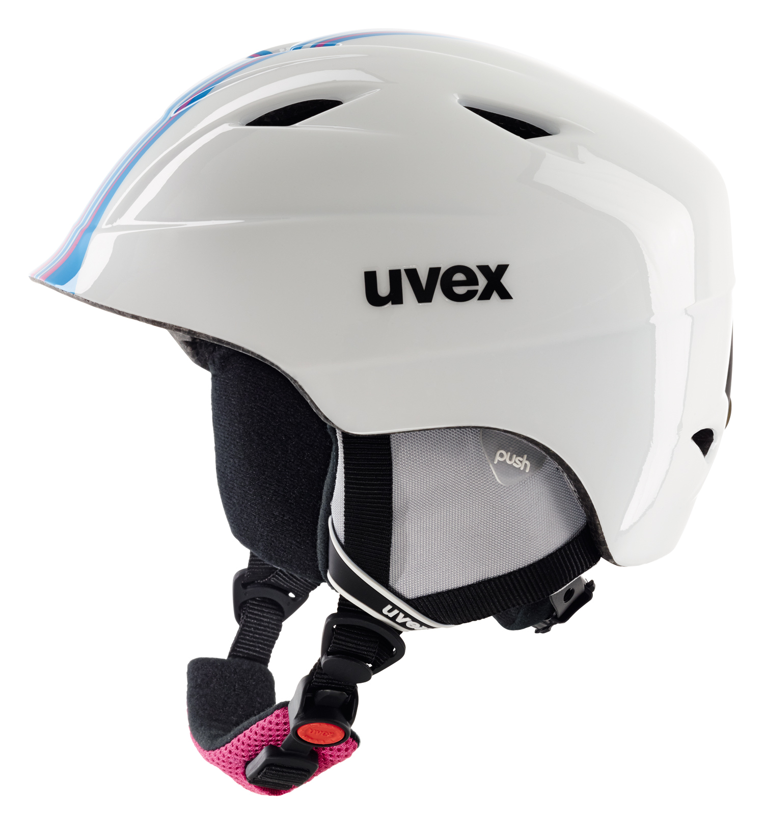 UVEX AIRWING 2 RACE, white-pink S566192190 16/17 48-52 cm