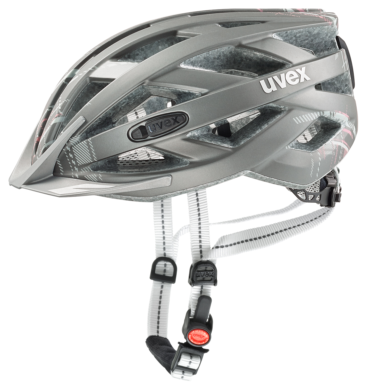 UVEX CITY I-VO, LIGHT GREY MAT 2016 52-56 cm