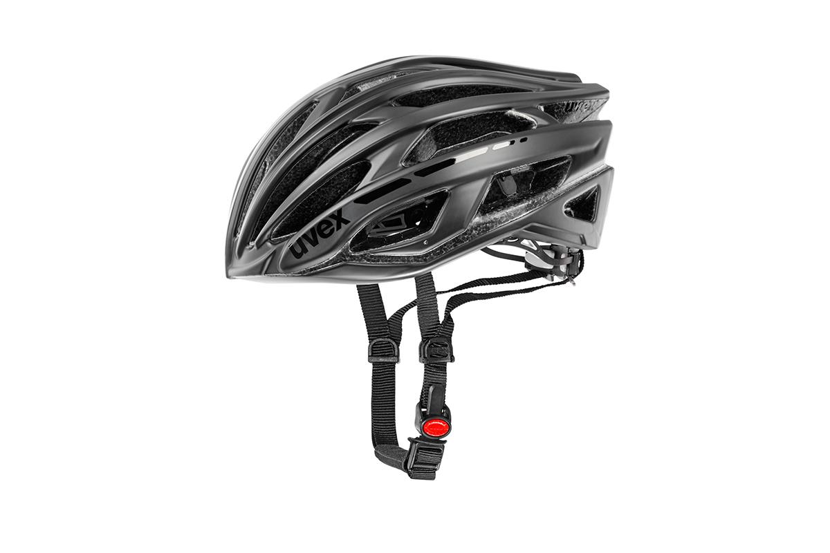 UVEX RACE 5, BLACK MAT/SHINY 2015 52-55 cm