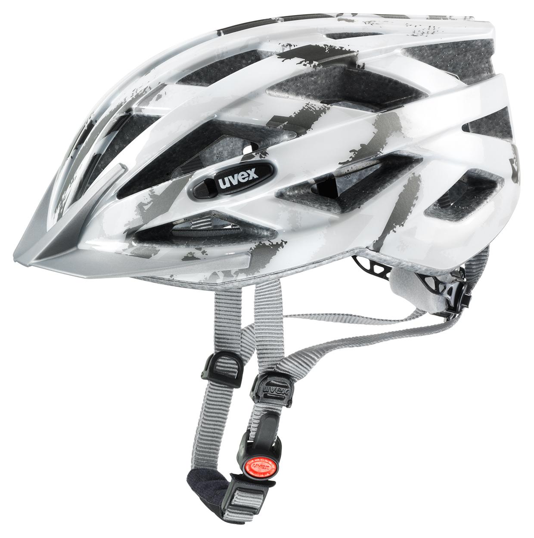 UVEX I-VO C, WHITE-DARK SILVER 2015 55-60 cm