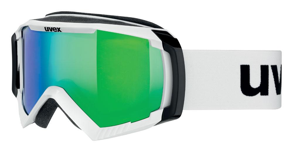 UVEX APACHE II, polarwhite/litemirror green S5506241126