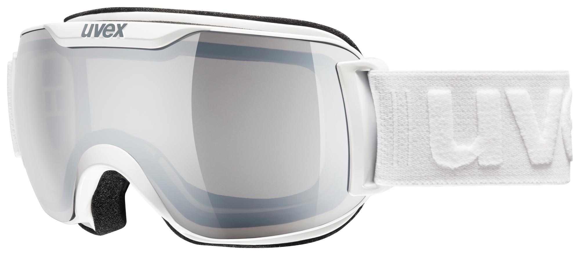 UVEX DOWNHILL 2000 S LM, white/ltm silver S5504381026