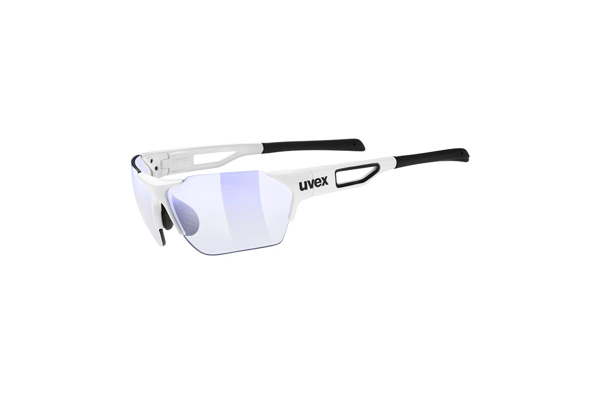 UVEX SGL 202 SMALL RACE VARIO, WHITE/BLUE