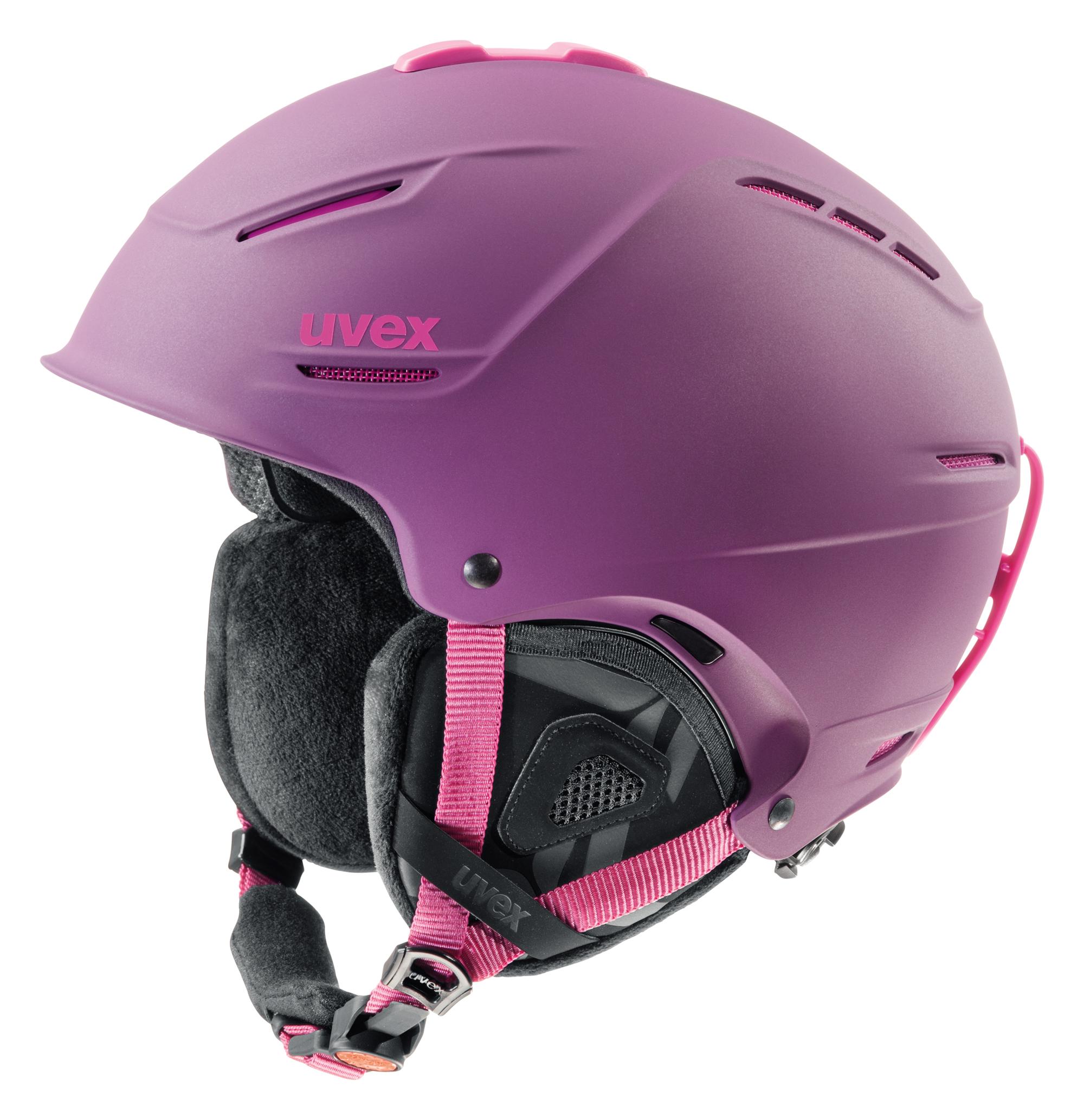 UVEX P1US Pro Lady, purple-pink mat S566179900 55-59 cm