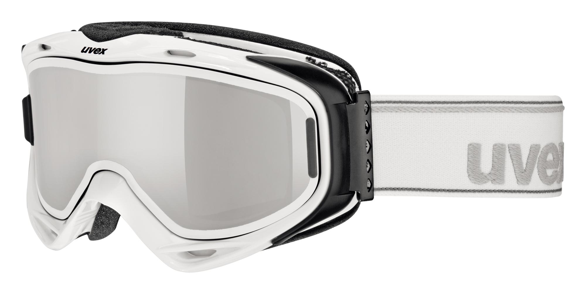 UVEX G.GL 300 TAKE OFF, white/litemirror silver S5502131026