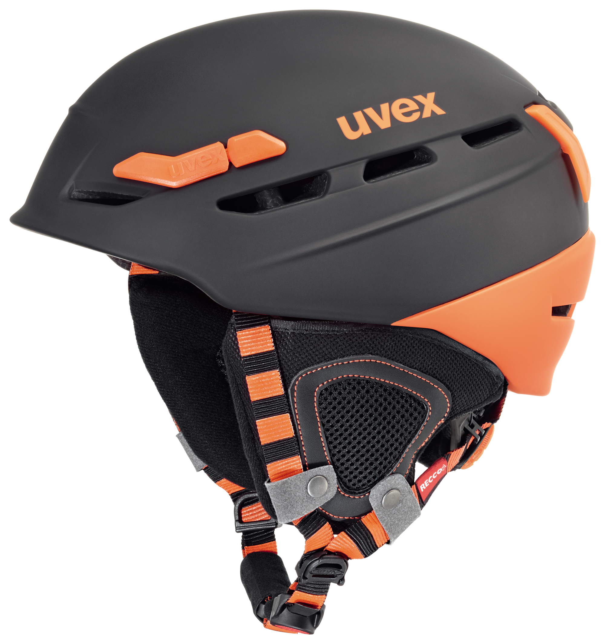 UVEX P.8000 TOUR, black-orange mat S566204280 17/18 55-59 cm