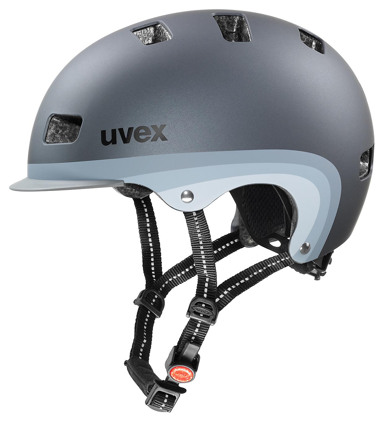 UVEX CITY 5, DARK SILVER METALLIC MAT 2015 55-58 cm