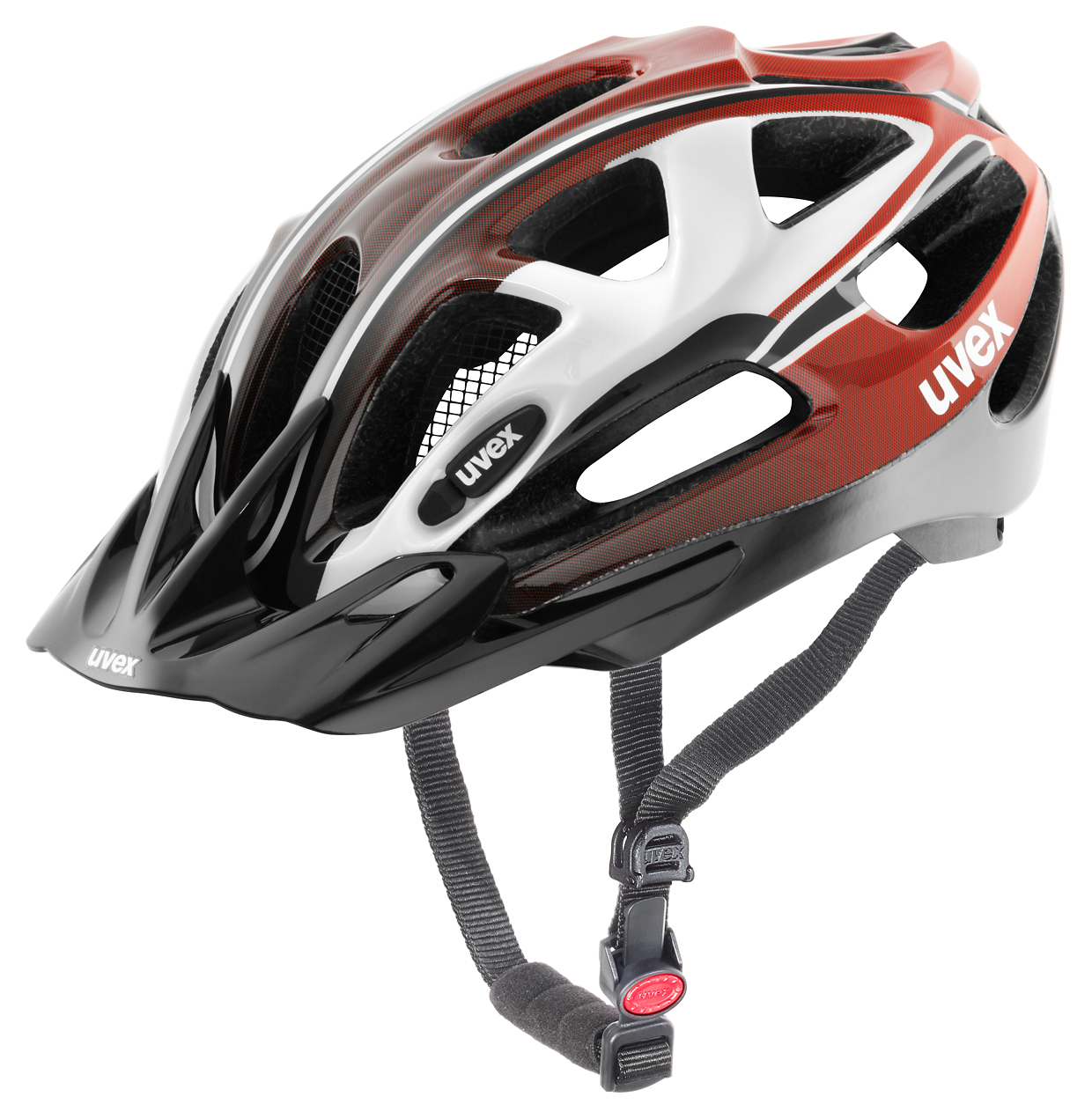 UVEX SUPERSONIC, WHITE-RED-BLACK 2016 52-57 cm