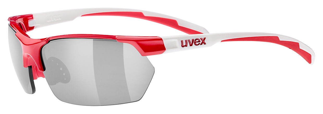 UVEX SPORTSTYLE 114, RED WHITE