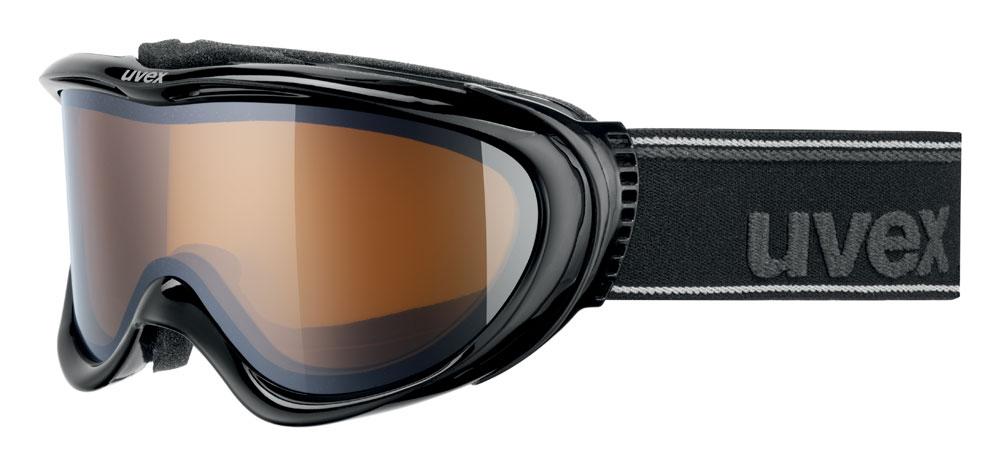 UVEX COMANCHE POLA, black/lasergold lite S5510962221