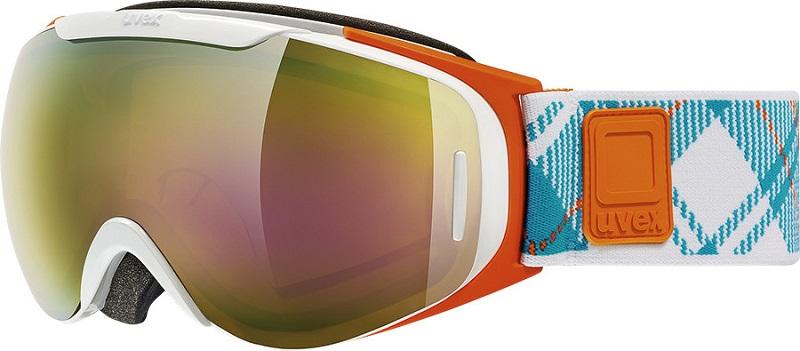 UVEX G.GL 9 RECON READY, white orange dl/ltm gold S5507001126