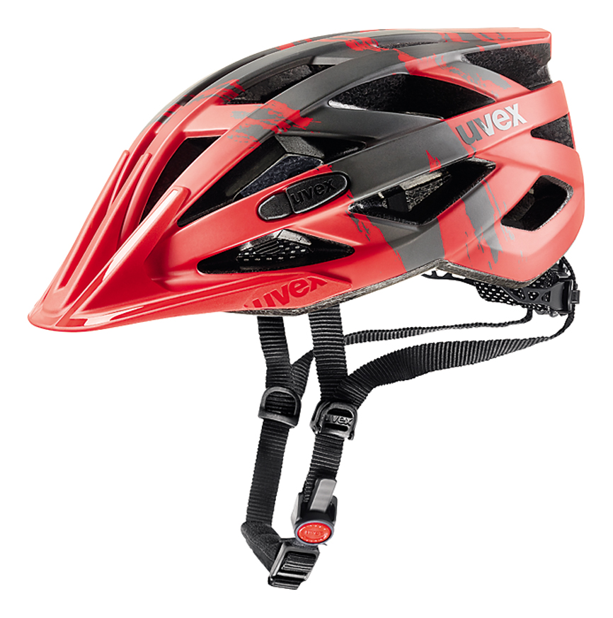 UVEX I-VO CC, RED-DARK SILVER MAT 2017 52-56 cm